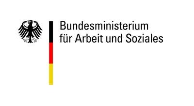 Logo: Bundesministerium für Arbeit und Soziales - Führt zur Startseite des BMAS